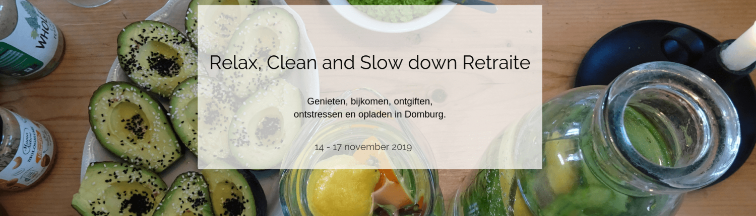 Relax, Clean and slow down Retraite Yogabee